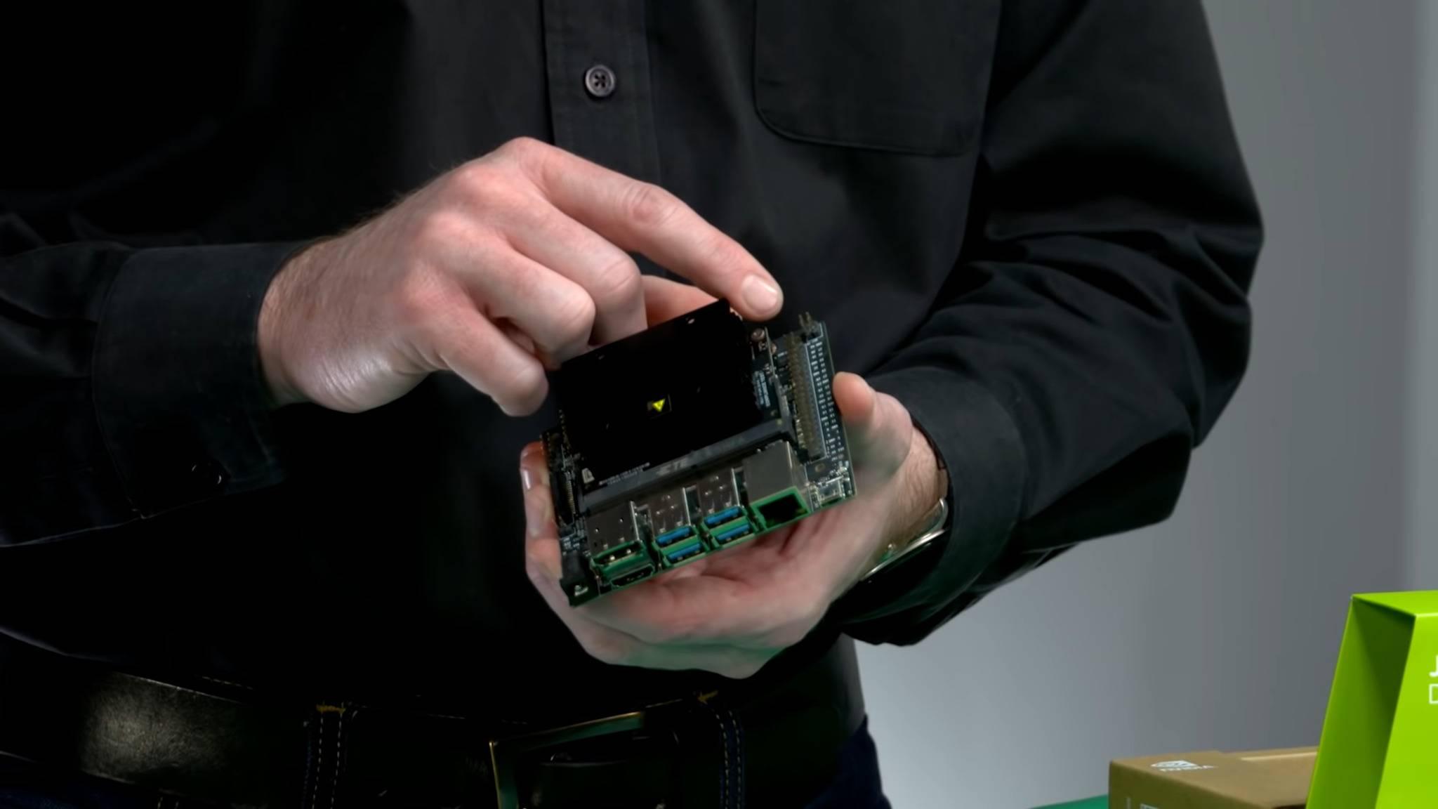 Der Nvidia Jetson Nano ist ein Mini-Computer für Bastler.