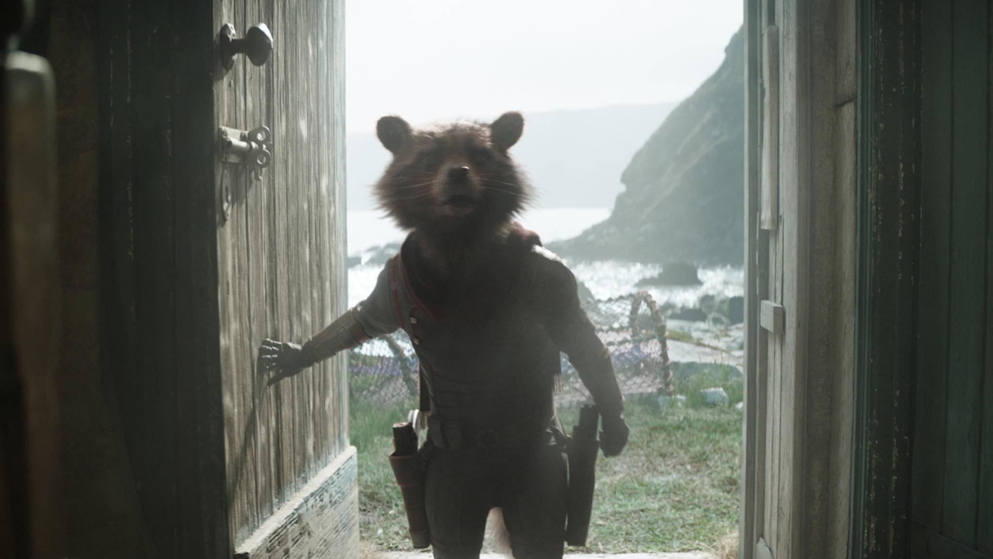 """Da staunt nicht nur Rocket: Die Blu-ray zu""""Avengers: Endgame"""" kommt mit reichlich Bonusmaterial!"""