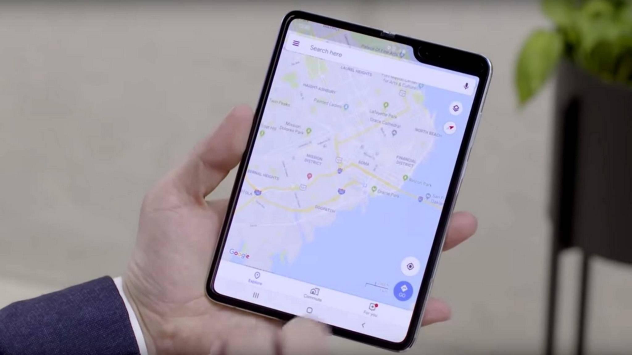 Faltbare Smartphones wie das Galaxy Fold erfordern einige Kompromisse.
