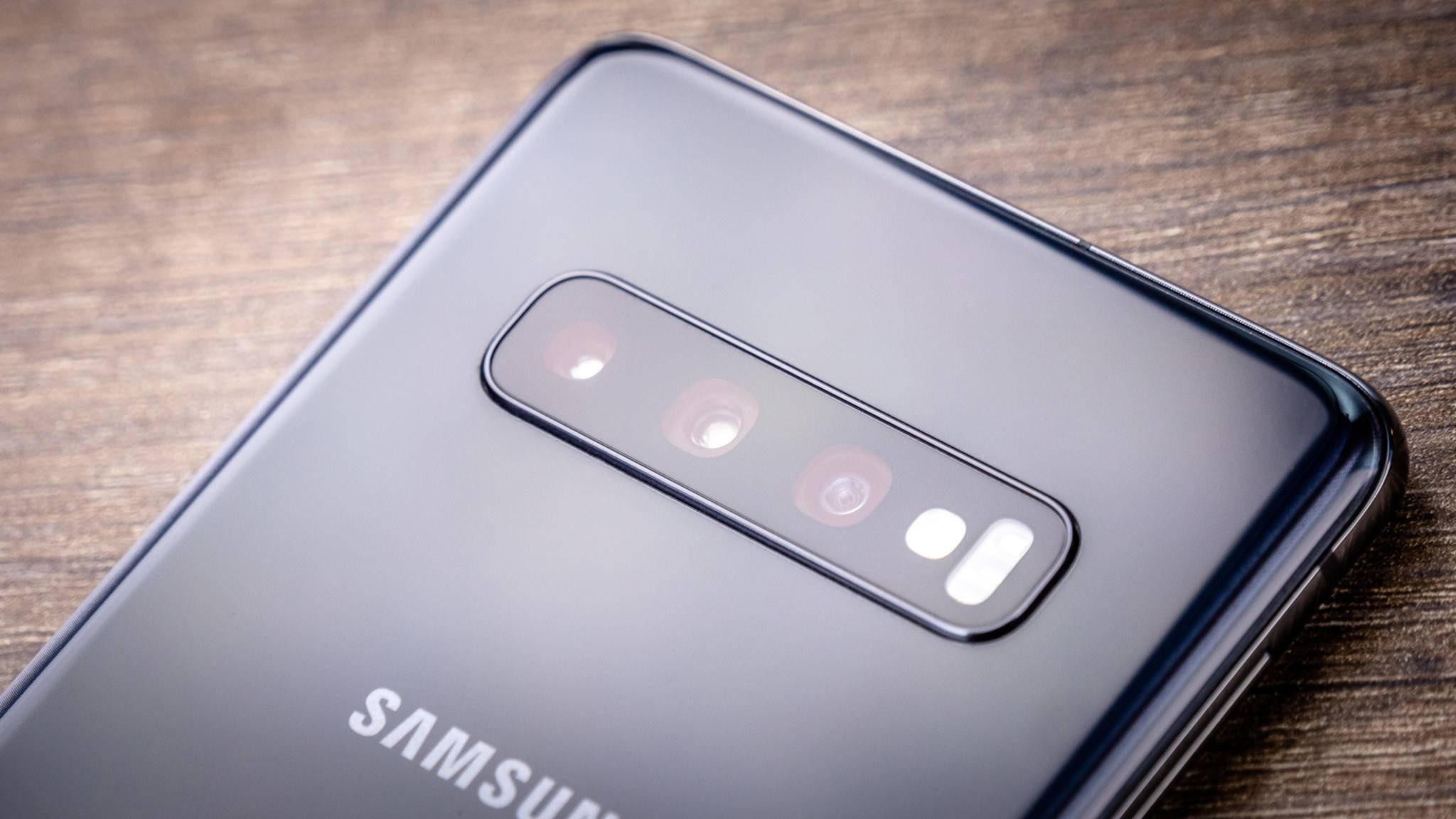 Das Samsung Galaxy S10 hat schon von Haus aus eine starke Kamera.