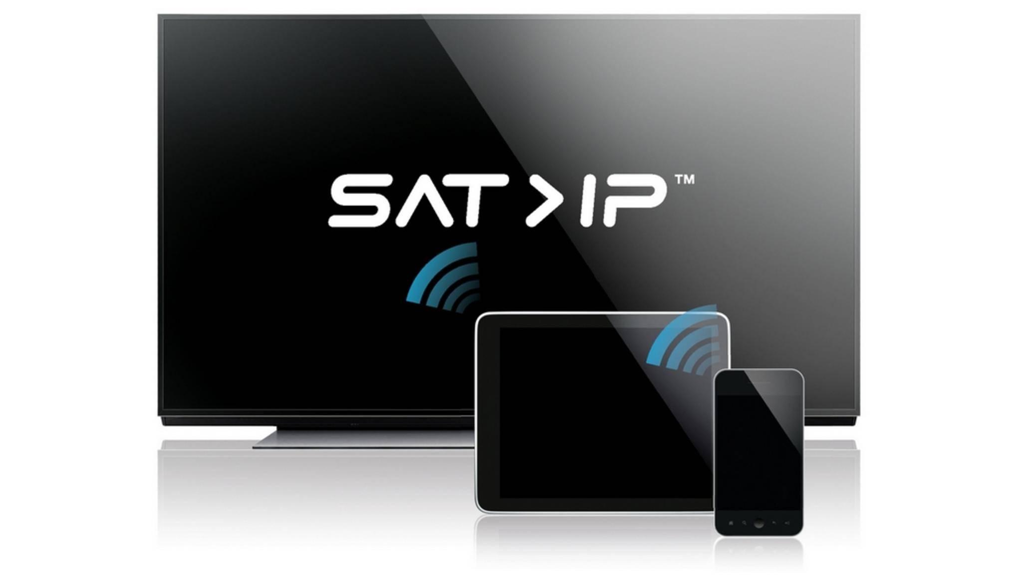 Dank Sat>IP lassen sich Satellitensignale auf alle Geräte verteilen.