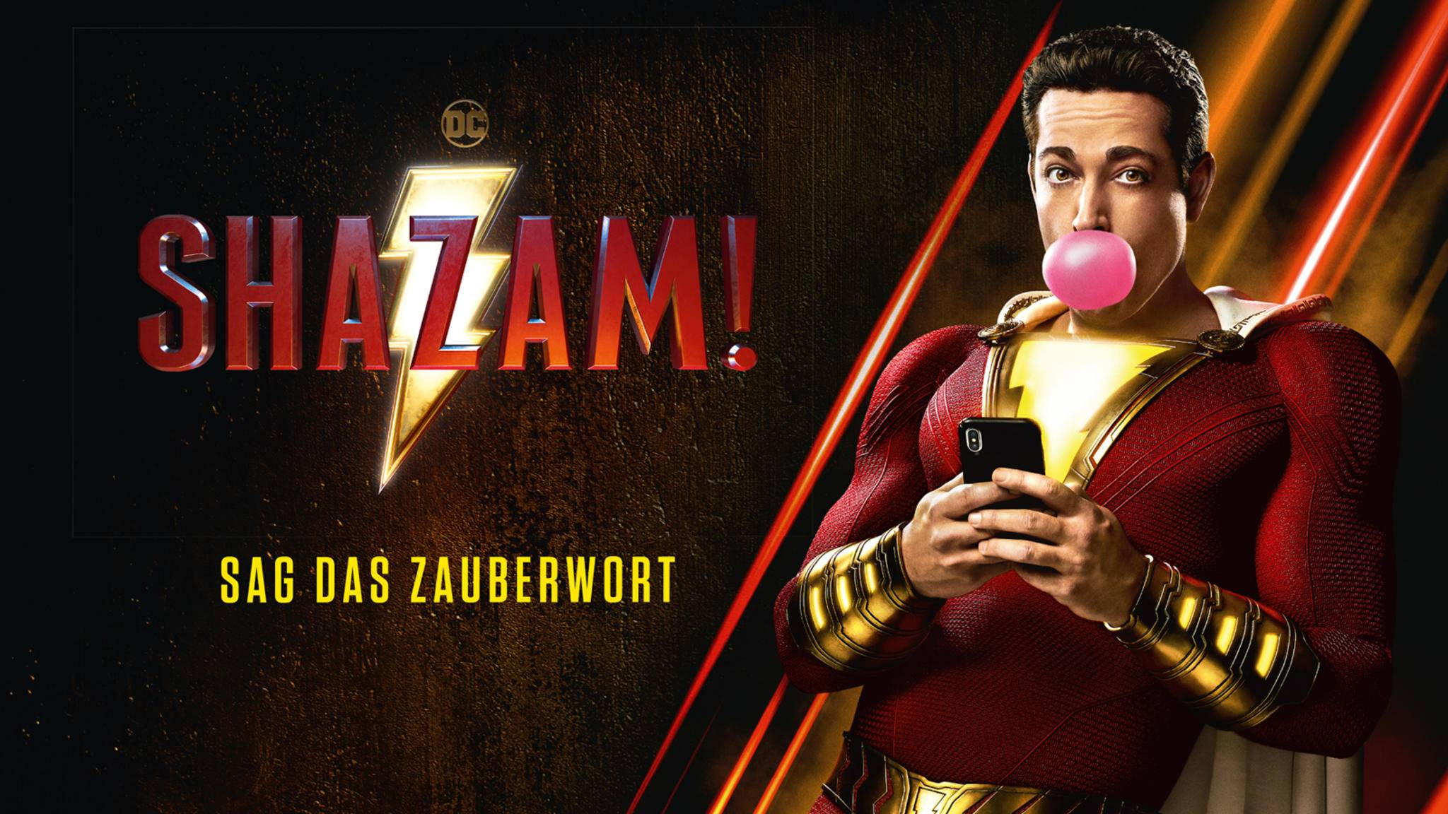 """Mit """"Shazam!"""" landet 2019 einer der mächtigsten DC-Helden auf der Leinwand."""