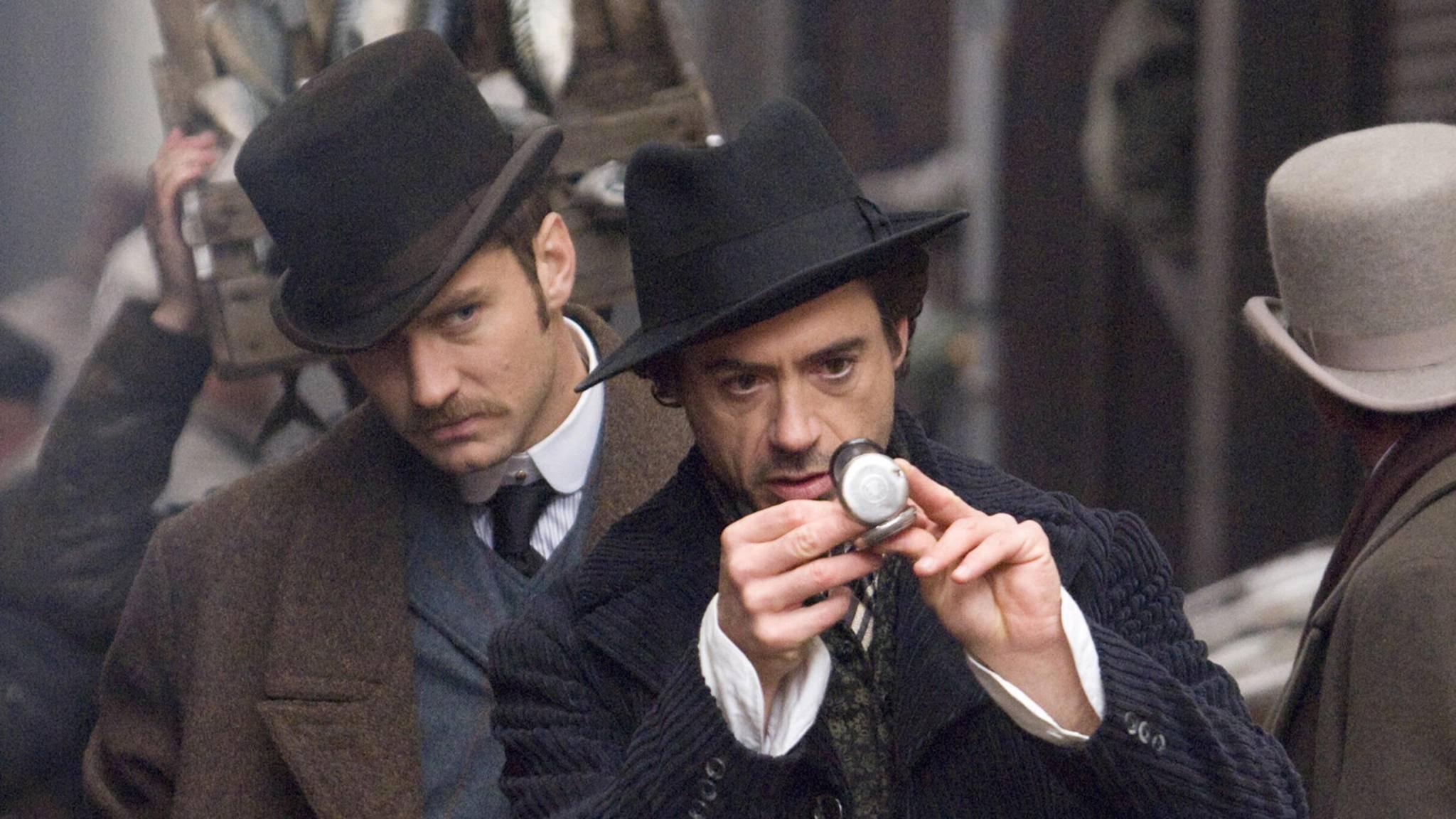 """Es läuft nicht alles nach Zeitplan: """"Sherlock Holmes 3"""" kommt um ein Jahr verspätet ins Kino."""