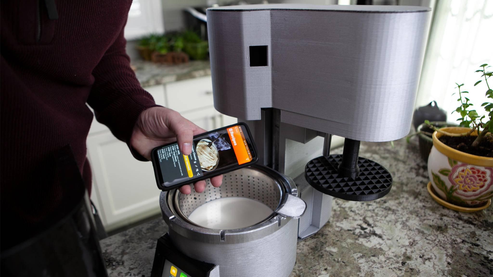 Käse machen per App – auch das ist mittlerweile möglich.