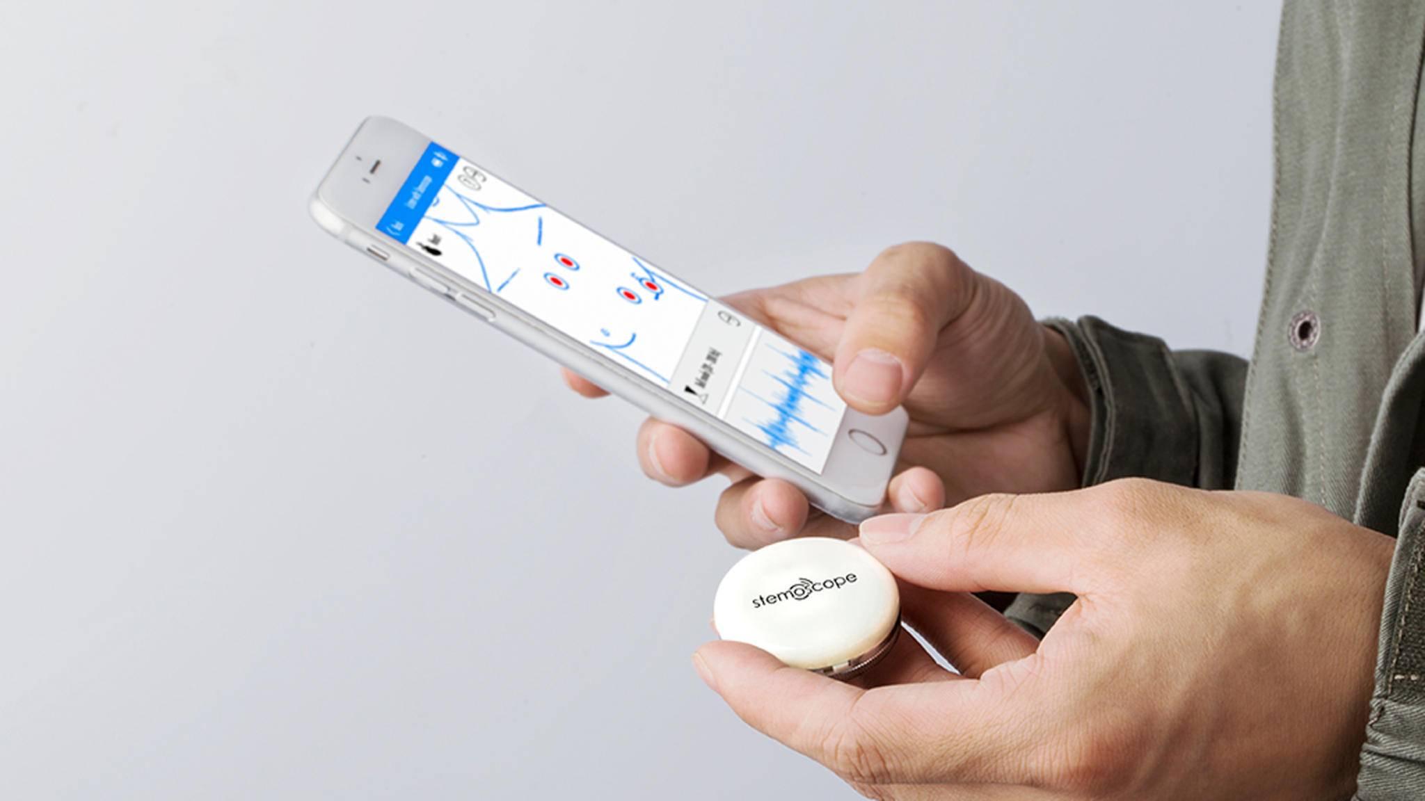 """Stemoscope bereitet die aufgenommenen """"Sounds des Lebens"""" benutzerfreundlich in einer App auf."""