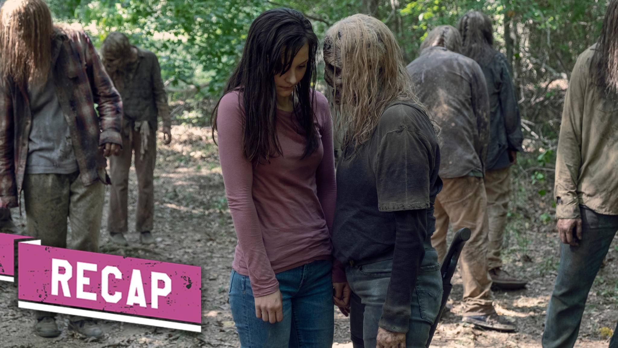 Alpha macht in Episode 12 noch mal besonders deutlich, dass mit ihr nicht zu spaßen ist.