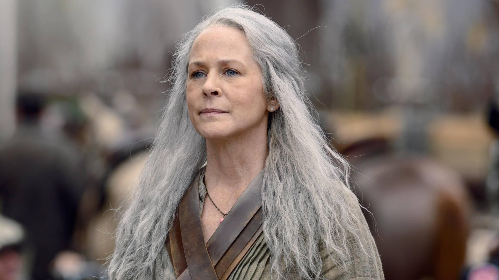 """In Staffel 10 von """"The Walking Dead"""" scheint es Carol mit Alpha aufnehmen zu wollen."""