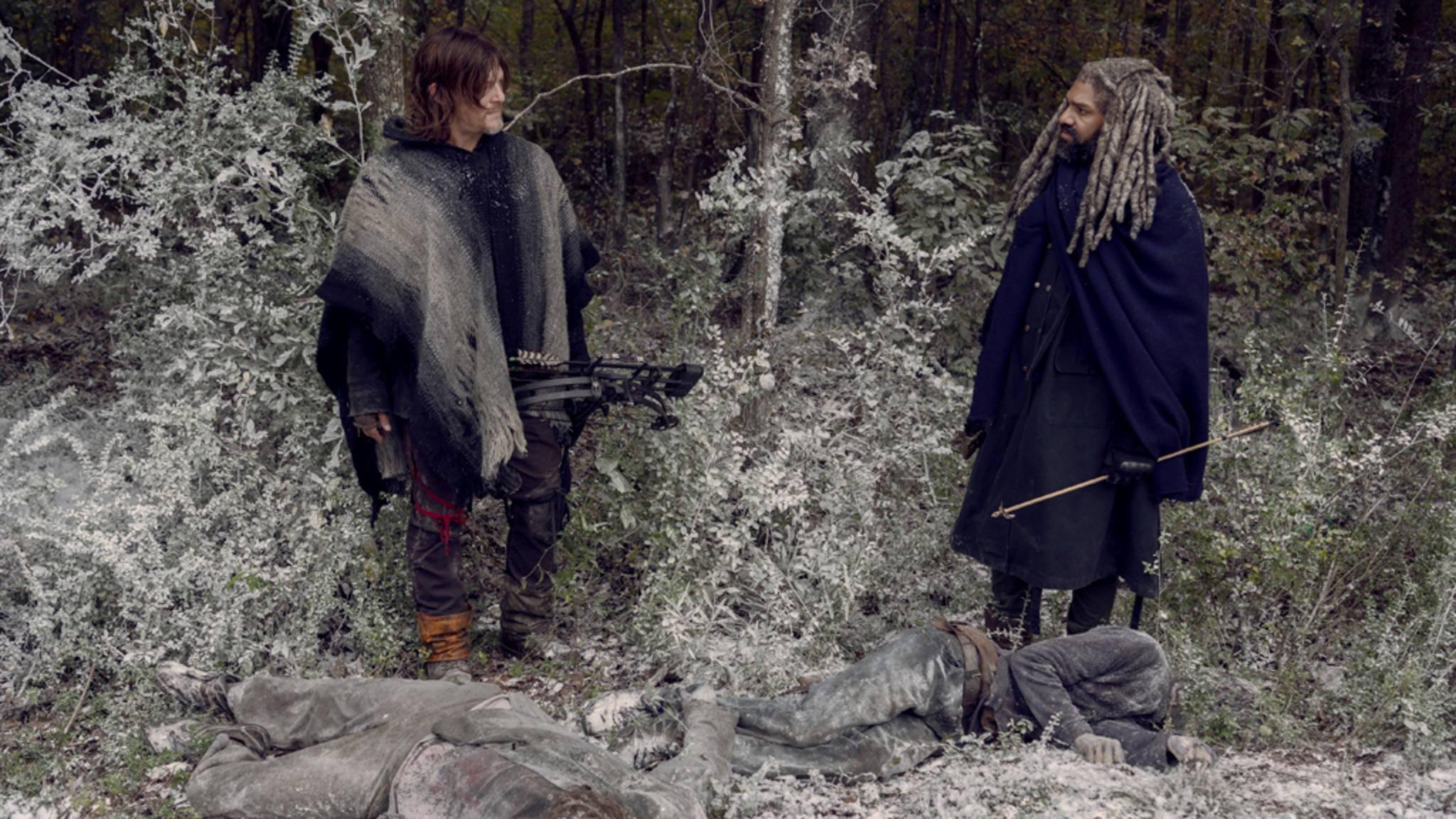 """Was war denn da los? Das Finale von Staffel 9 hat viele """"The Walking Dead""""-Fans mit diversen Fragen zurückgelassen."""