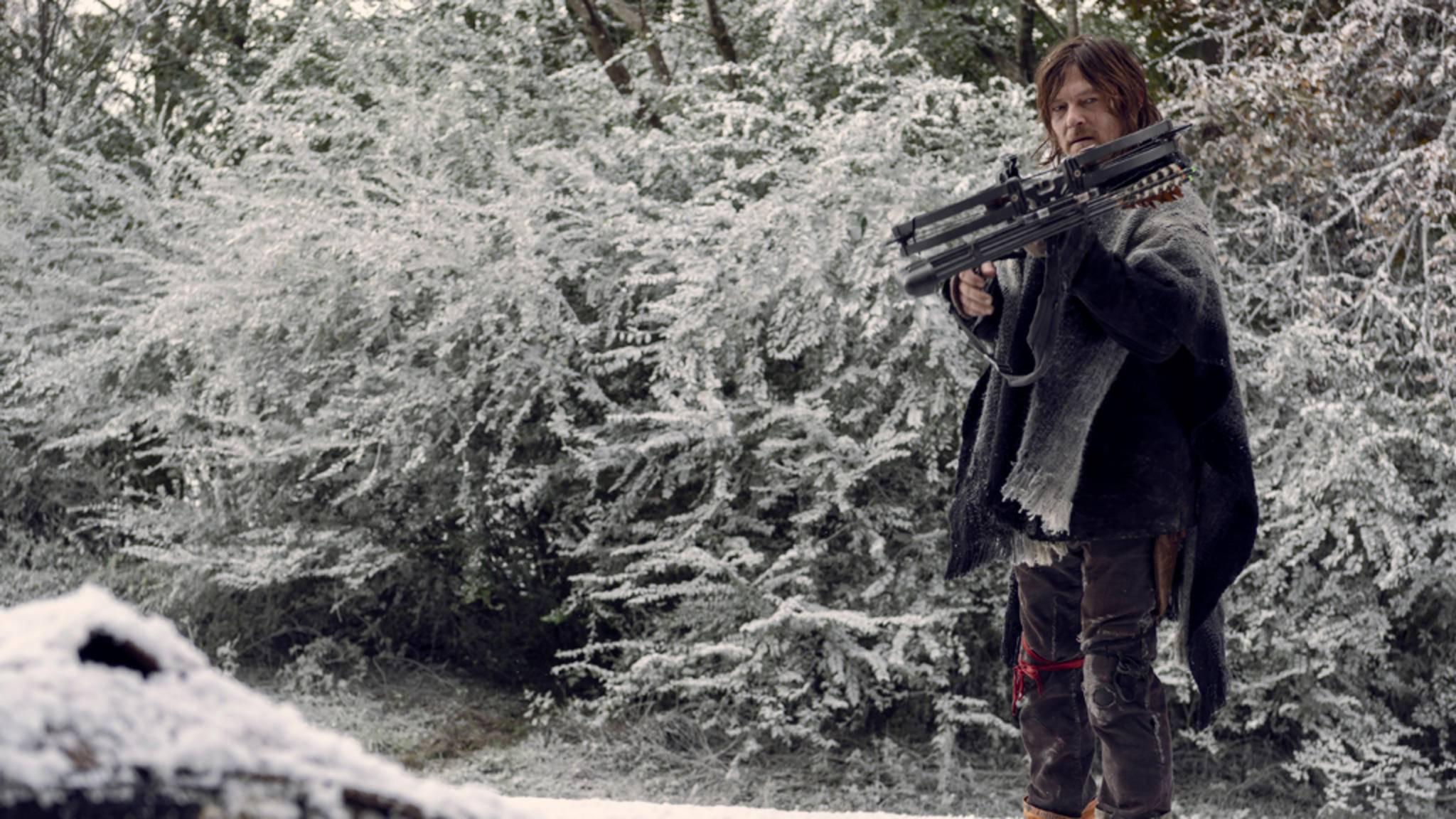 Auch für Daryl könnte Staffel 10 eine Überraschung bringen.
