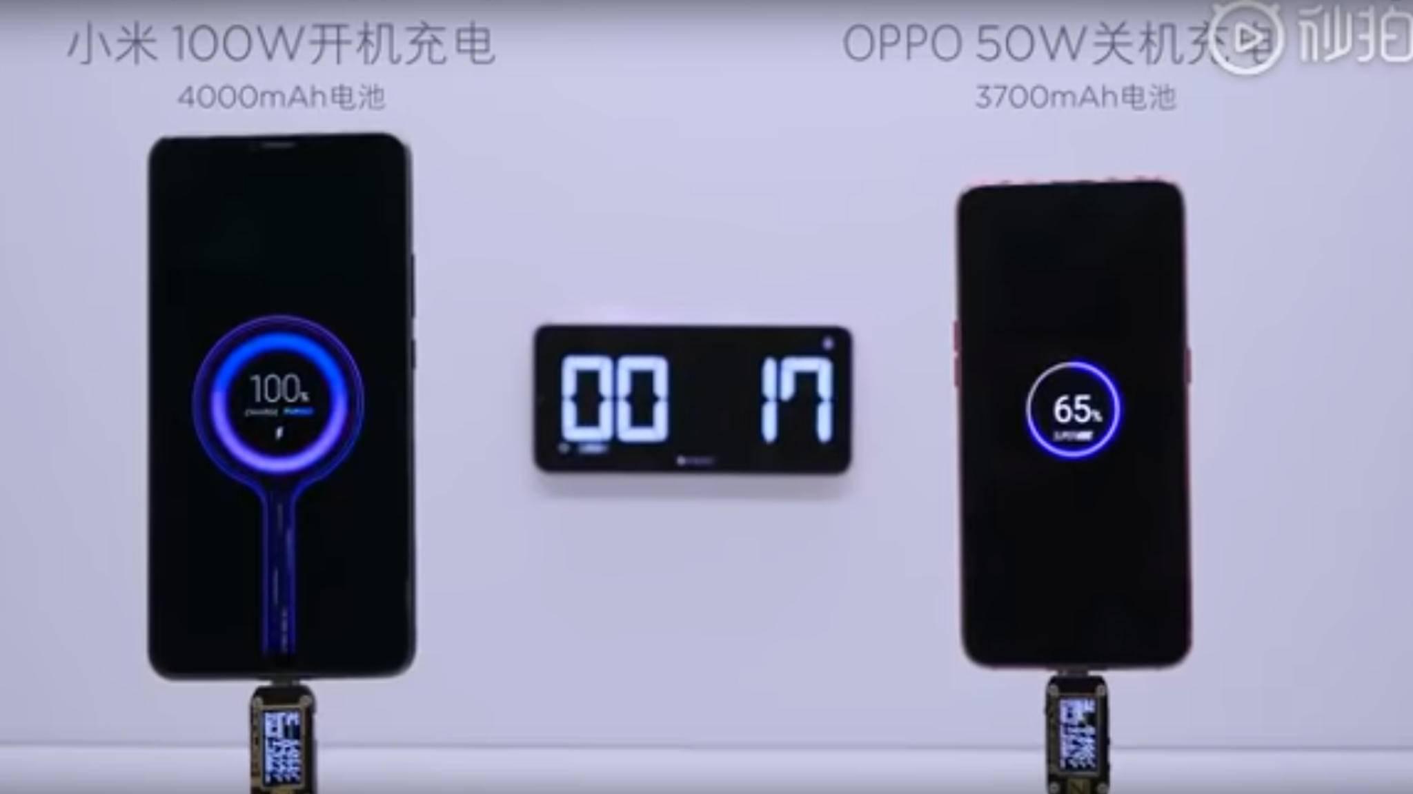 Bevor ein Xiaomi-Smartphone mit 100 Watt geladen werden kann, muss Xiaomi noch einige Herausforderungen meistern.