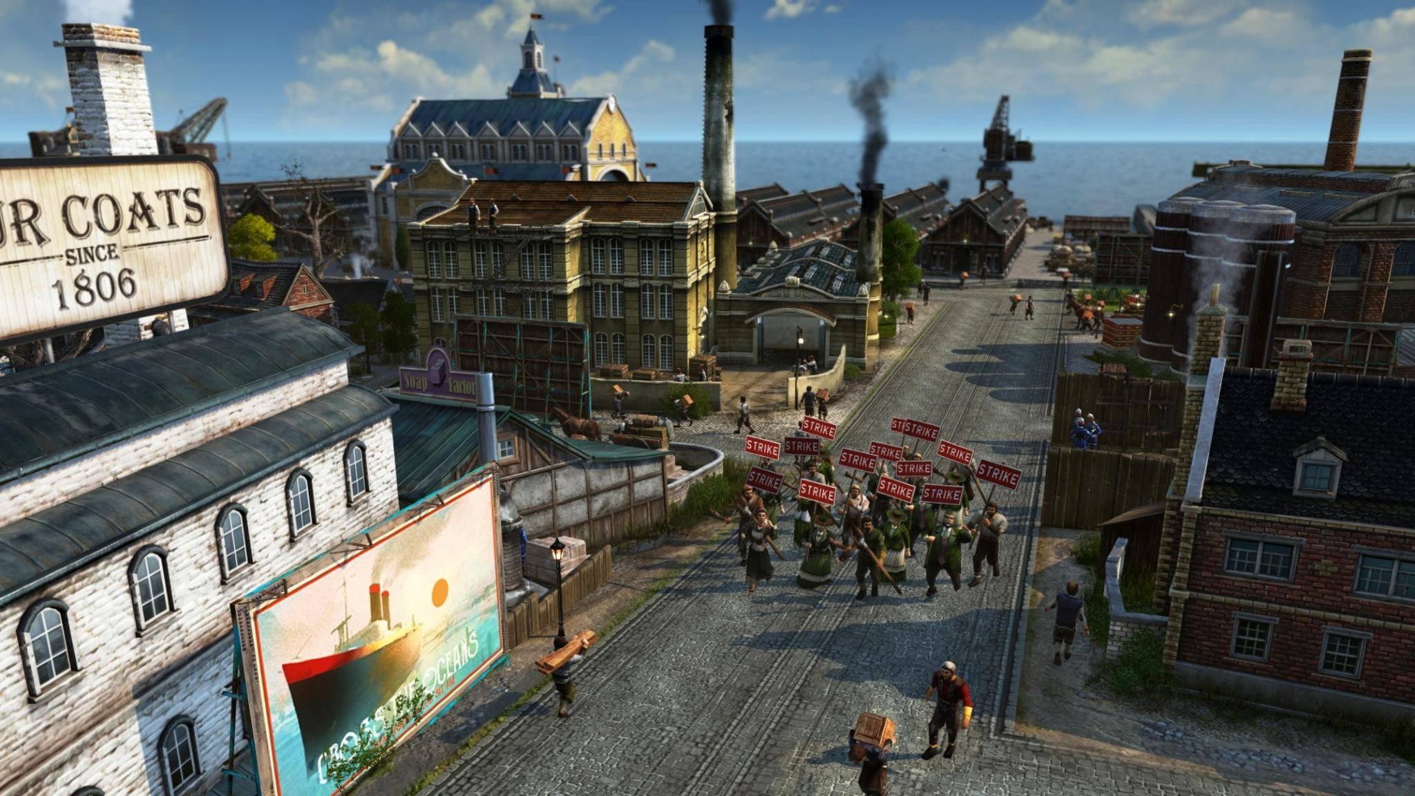 """""""Anno 1800"""" wurde in Zusammenarbeit mit der Fan-Community entwickelt."""