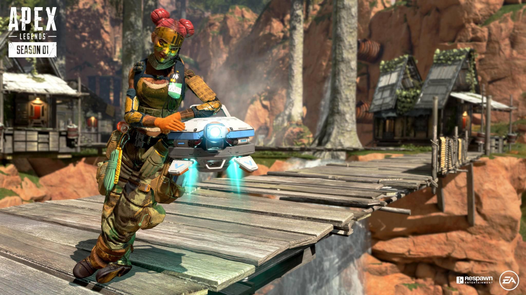 """Wer den Battle Pass in """"Apex Legends"""" leveln will, hat gut zu tun."""