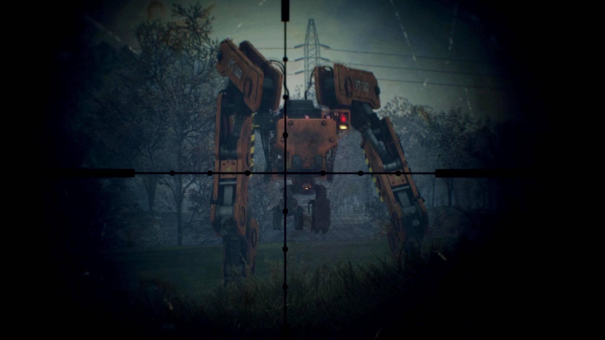 Na gut, bei den Robotern ist größer schon besser ...