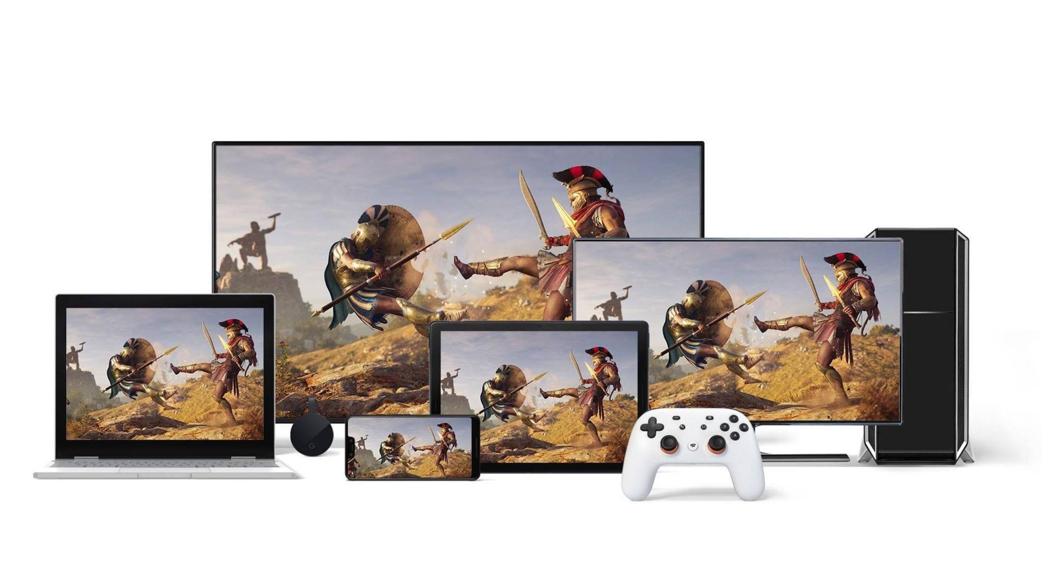 Stadia: Google will Gaming auf jeden Bildschirm bringen.