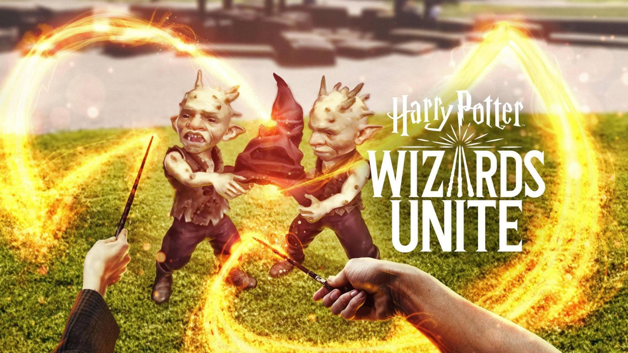 """In """"Harry Potter Wizards Unite"""" stöberst Du magische Artefakte und Kreaturen auf."""