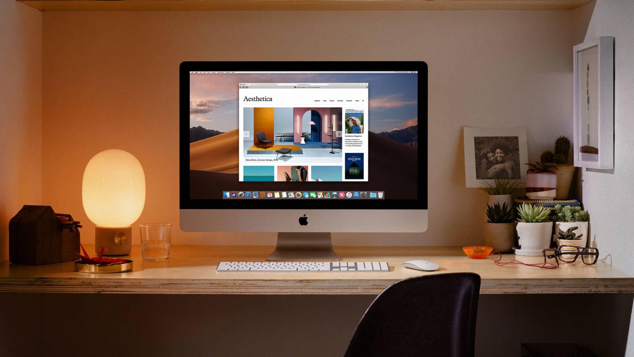 Apple hat neue, leistungsstärkere iMacs vorgestellt.