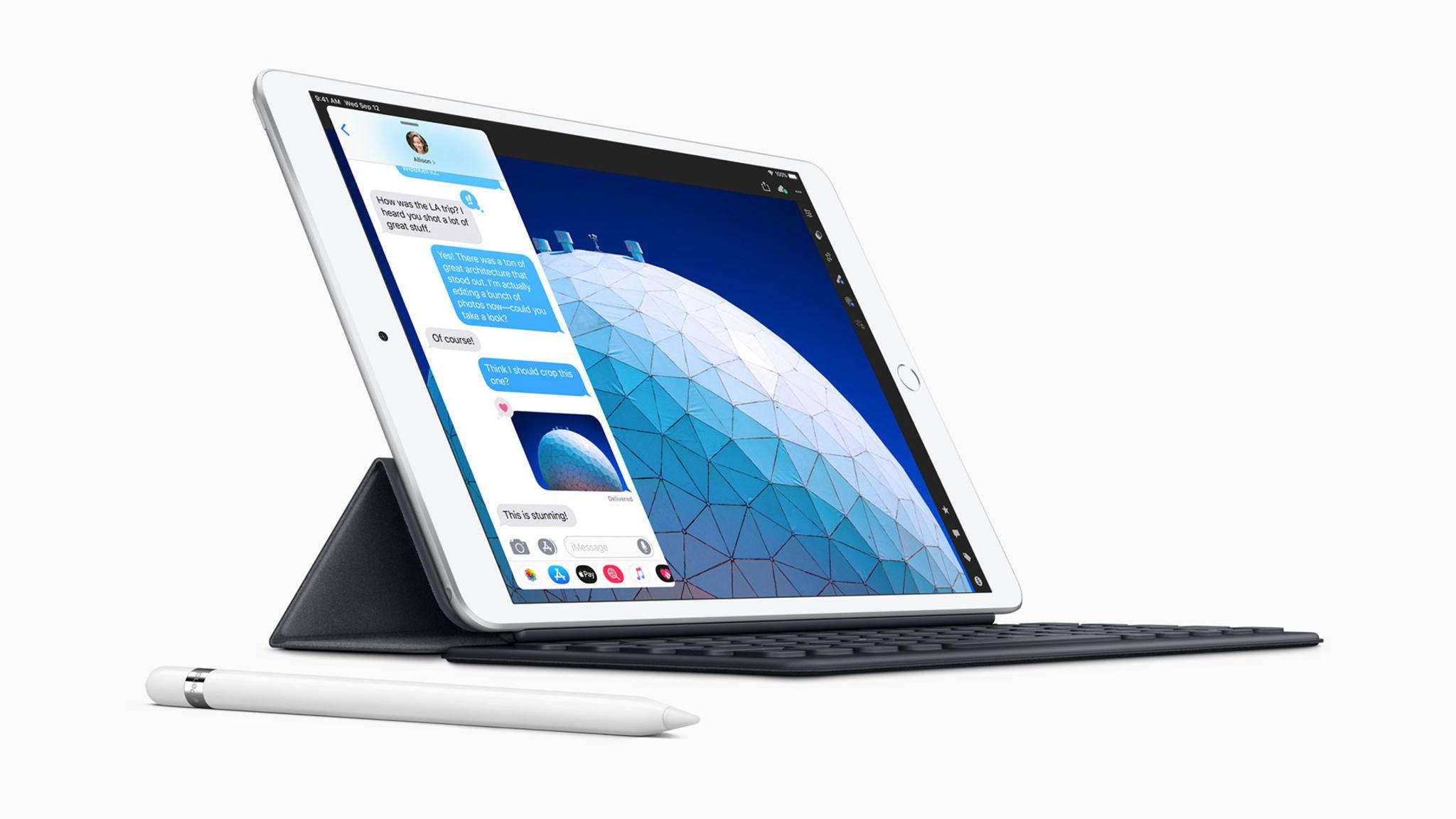 Das nächste iPad Air soll den Fingerabdrucksensor unter dem Display unterbringen.