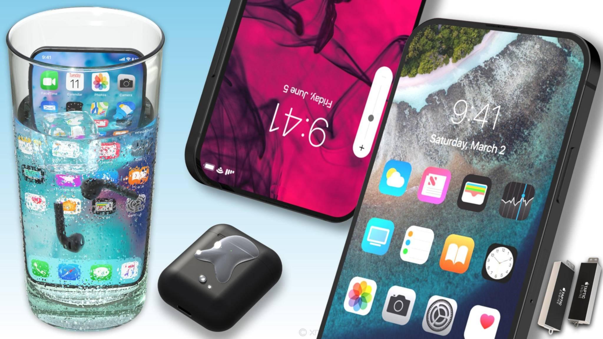 Das Display des iPhone 2019 soll angeblich sogar unter Wasser bedienbar sein.