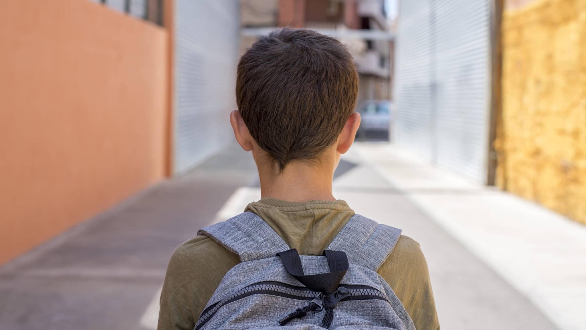 Der Dyson-Rucksack soll die Luftqualität zwischen dem Zuhause und der Schule messen.
