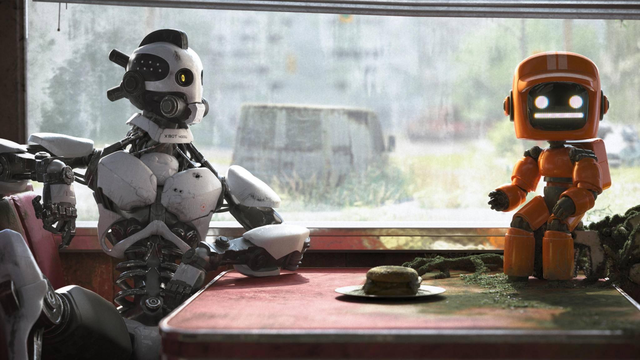 """Treffen sich zwei Roboter in einer Bar: """"Drei Roboter"""" ist eines der Highlights der Anthologieserie."""