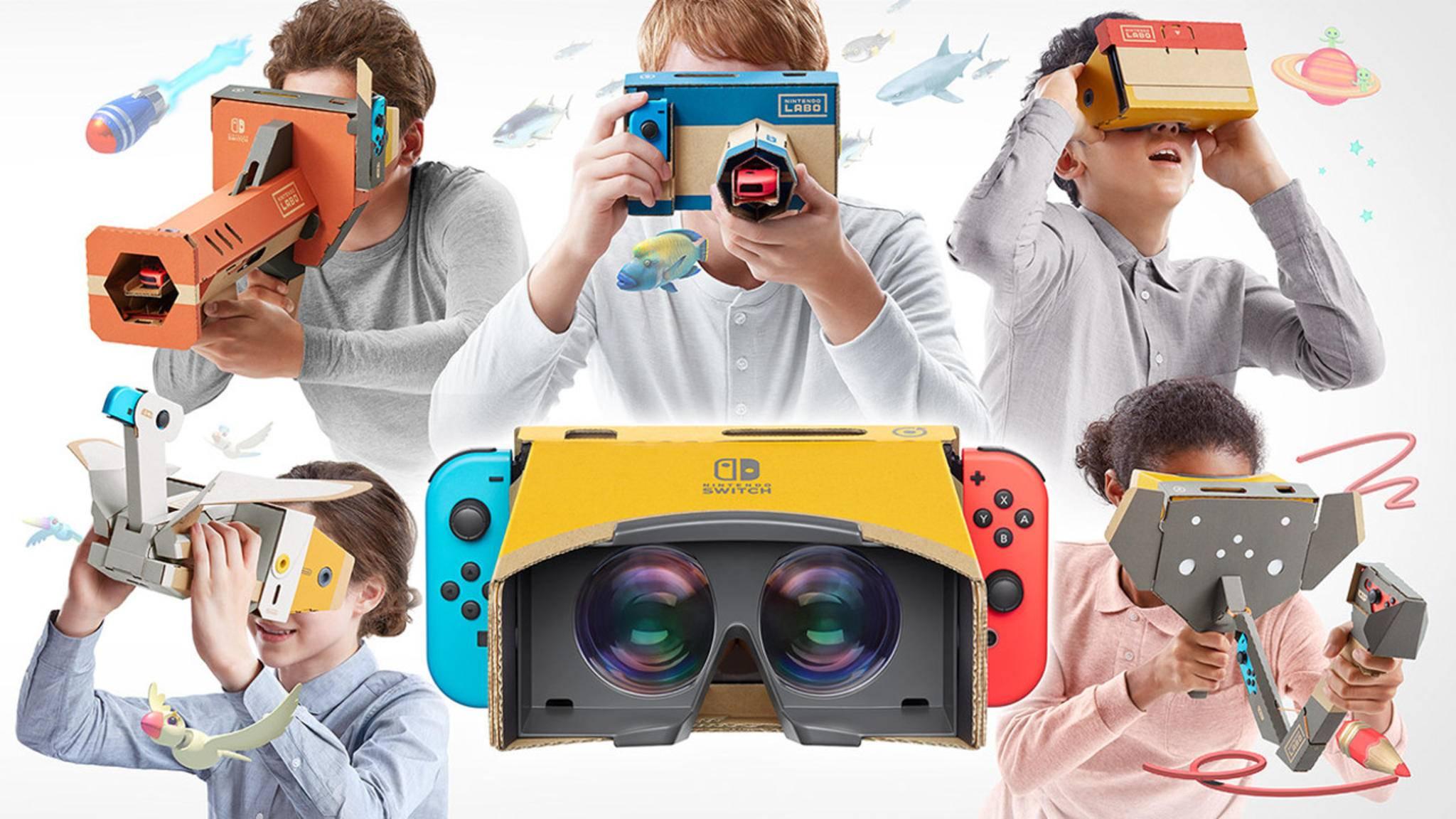Nintendo bringt Virtual Reality auf die Switch.