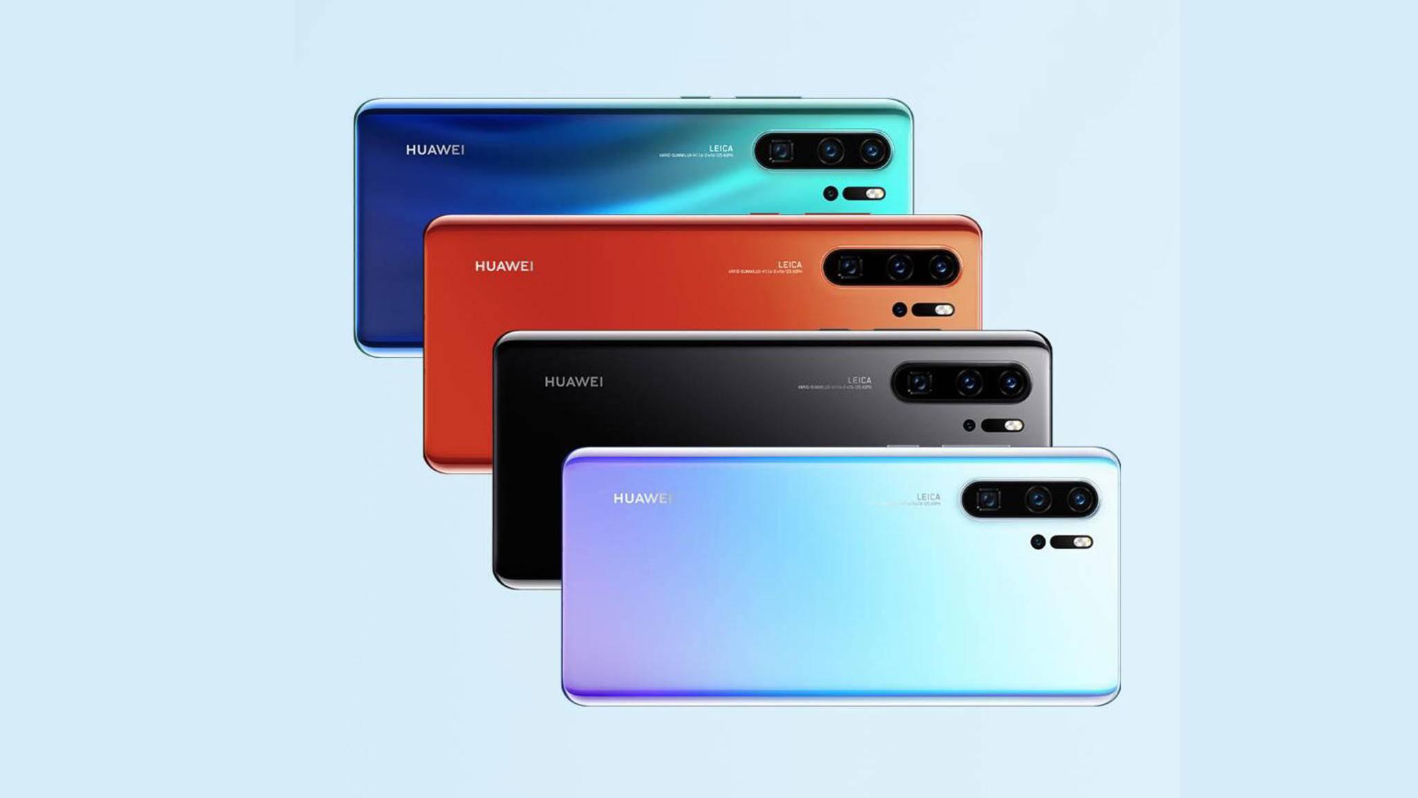 Das Huawei P30 Pro besitzt eine Quad-Kamera und kostet 999 Euro.