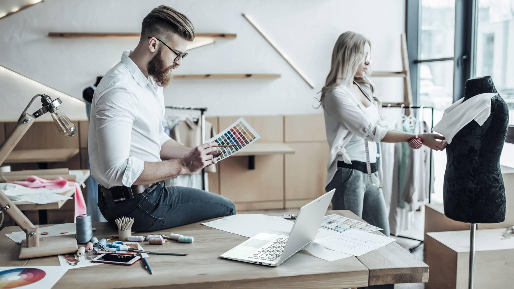 Das Acer Concept D5 richtet sich an Kreative wie Modedesigner.