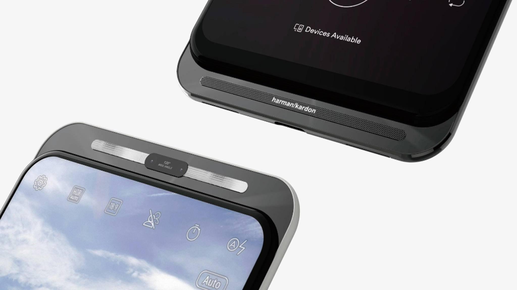 Asus tüftelt an einem Smartphone mit Dual-Slider-Mechanismus.