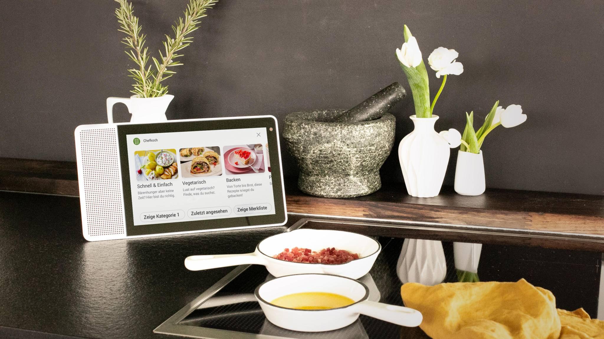 Chefkoch hat sein Voice-Angebot für Smart Displays optimiert.