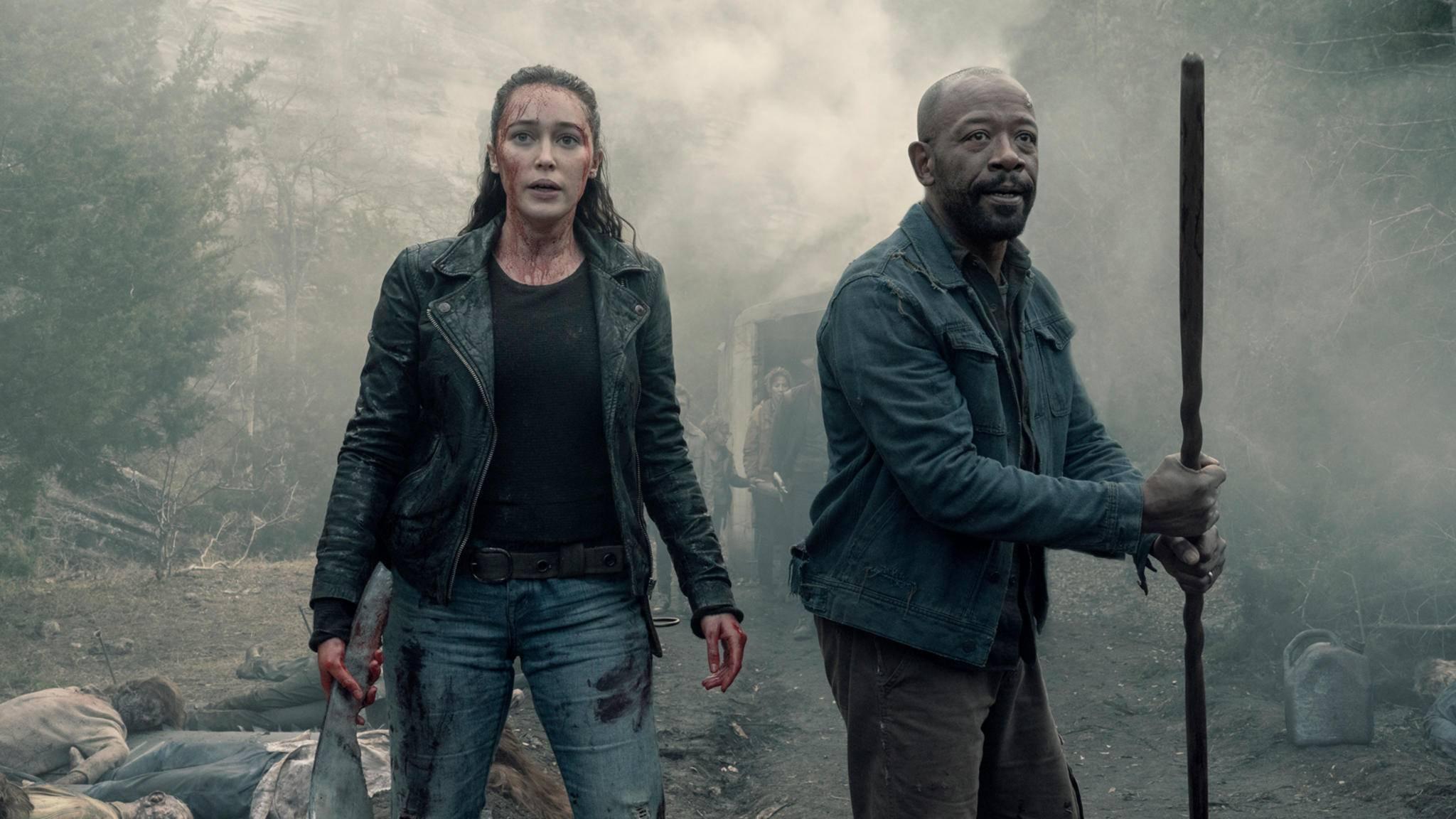 Morgan (rechts) kennt sich mit Crossovers aus.