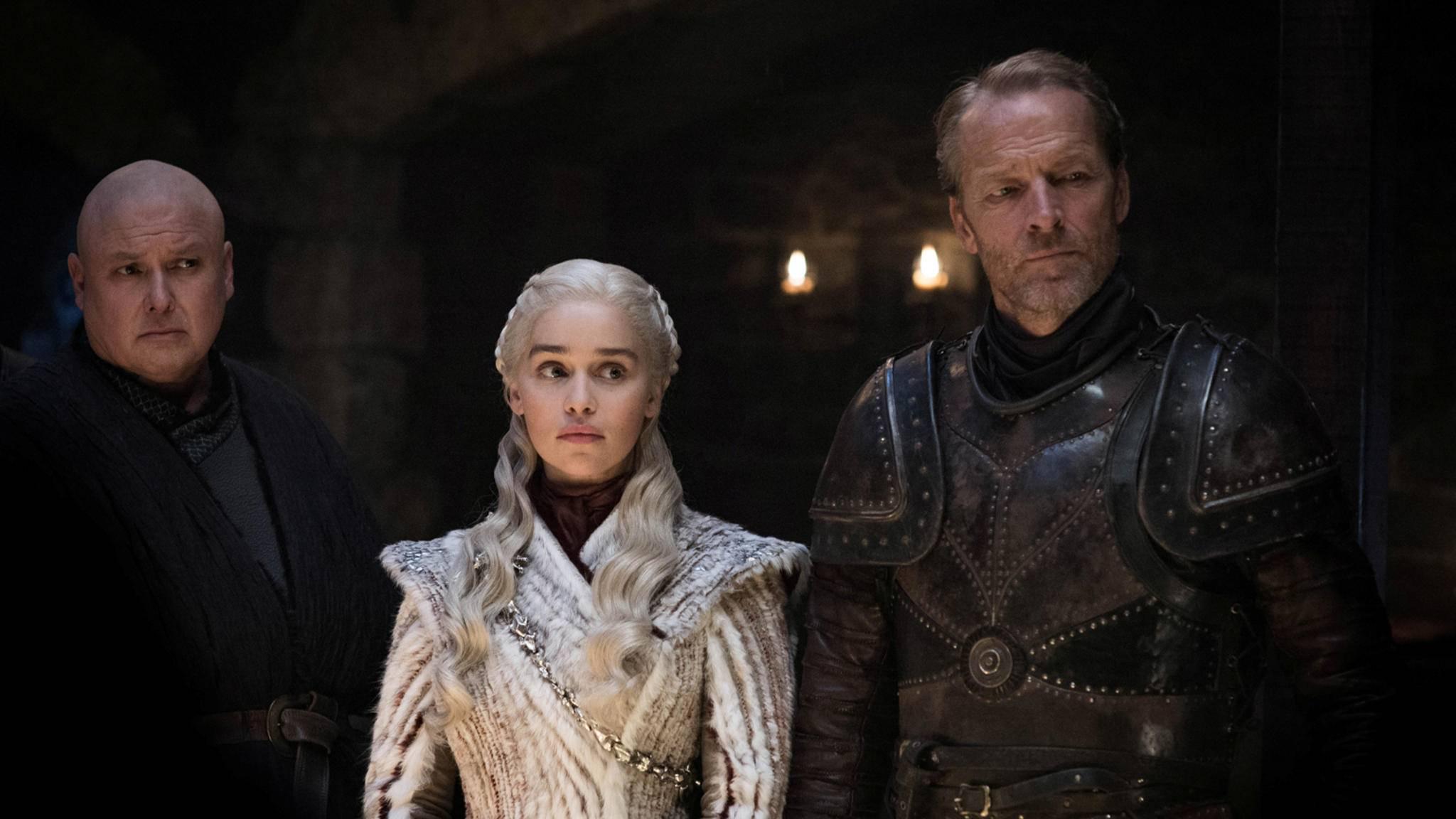 Varys, Daenerys und Ser Jorah: Das Schicksal zumindest einer Figur hätte auch anders aussehen können.
