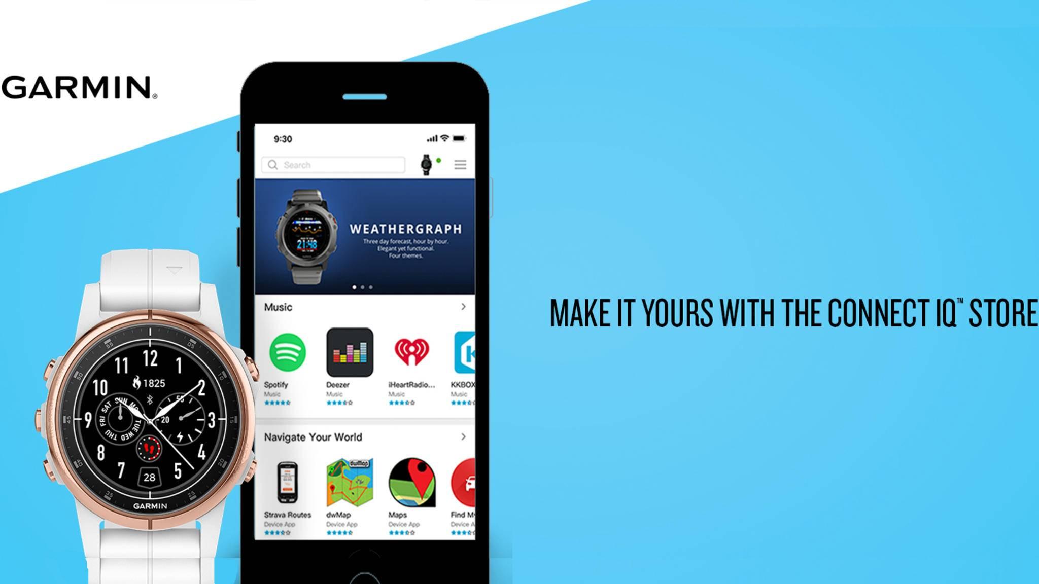 Garmin bringt seinen eigenen App-Store an den Start.