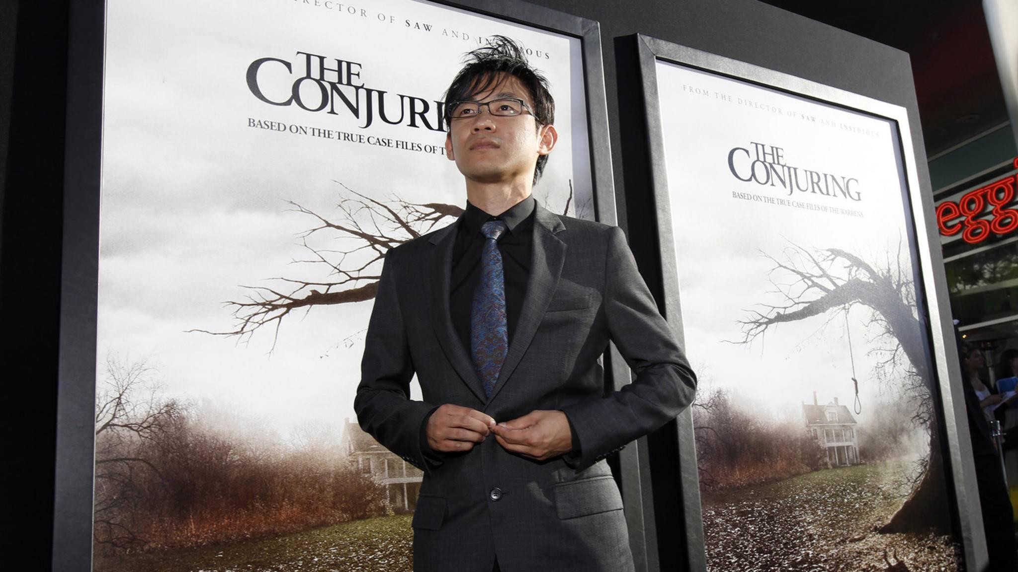 Horror kann er! James Wan ist an einer kommenden Stephen-King-Verfilmung beteiligt.