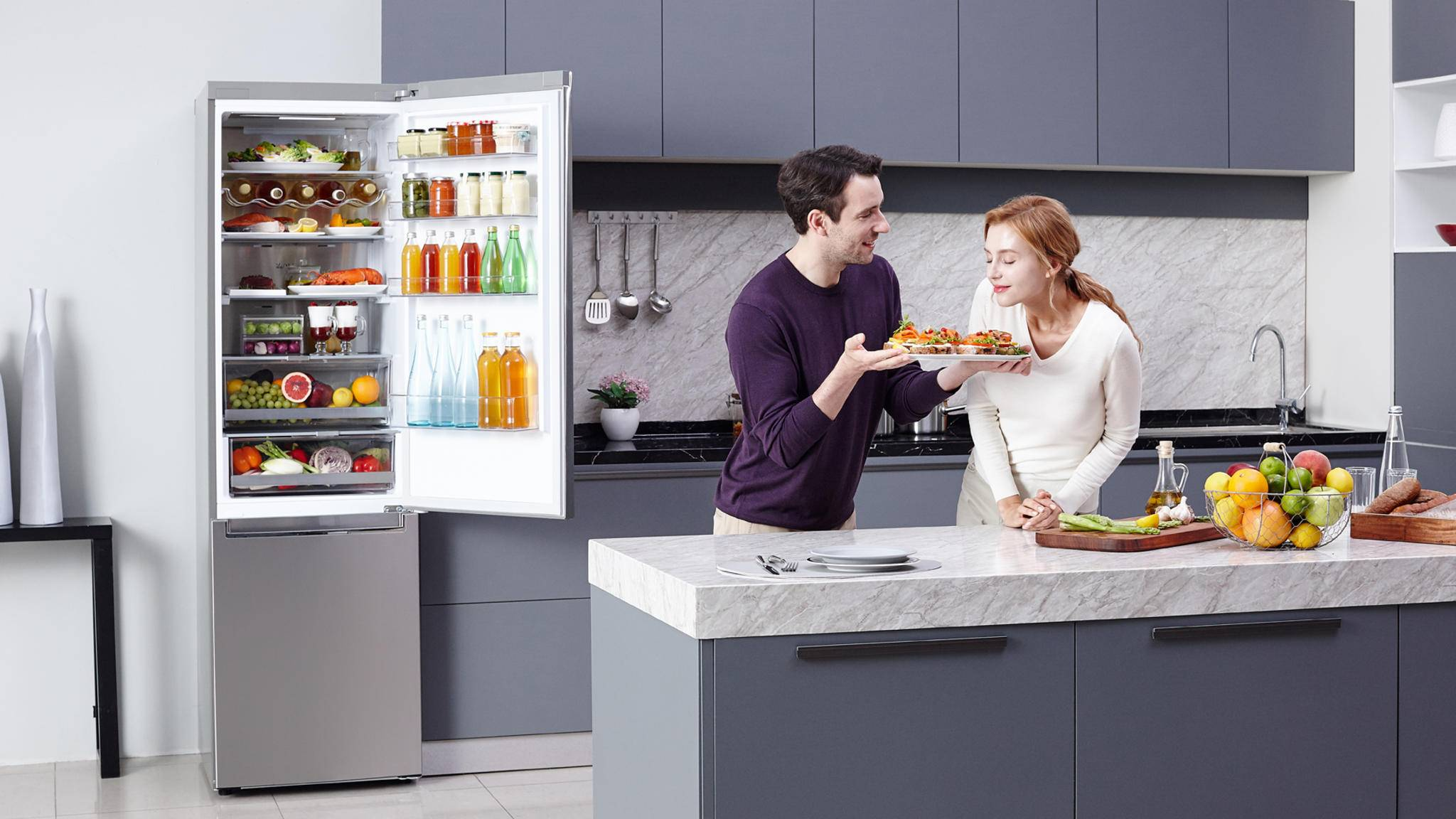 Das Brummen des Kühlschranks kann in vielen Fällen schnell behoben werden.