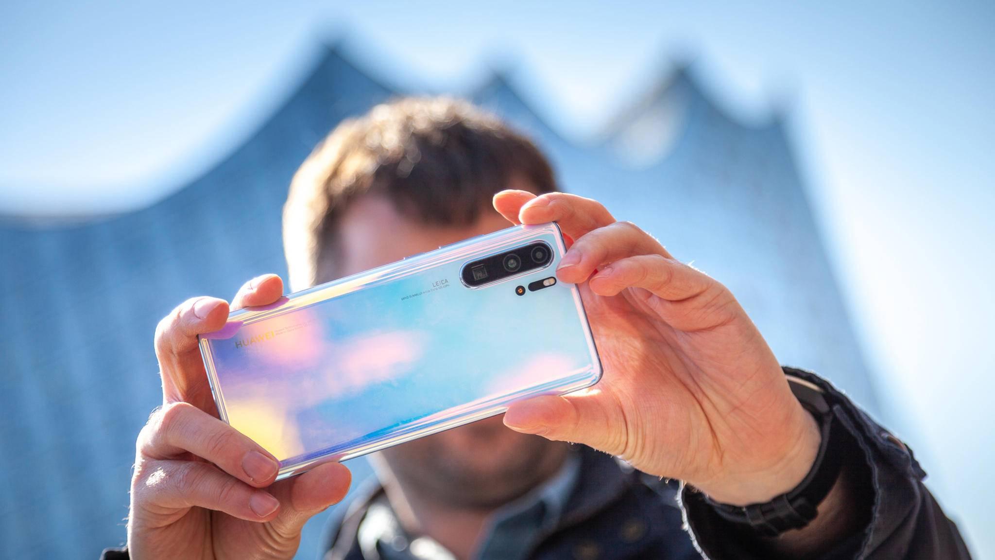 Das Huawei P30 Pro hat einige Tricks auf Lager.