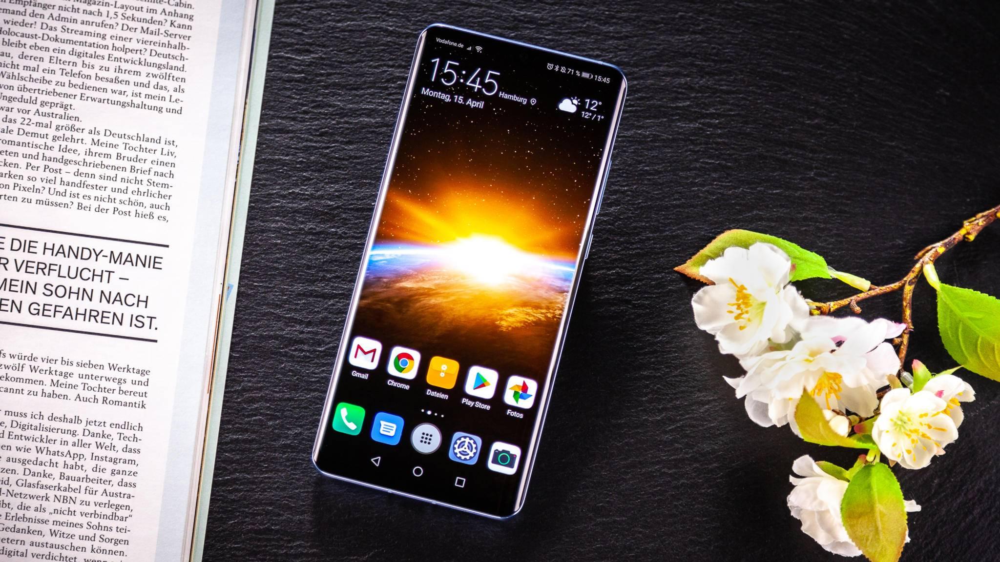 Schon erhältliche Huawei-Handys wie das P30 Pro bekommen weiterhin Sicherheits-Updates.