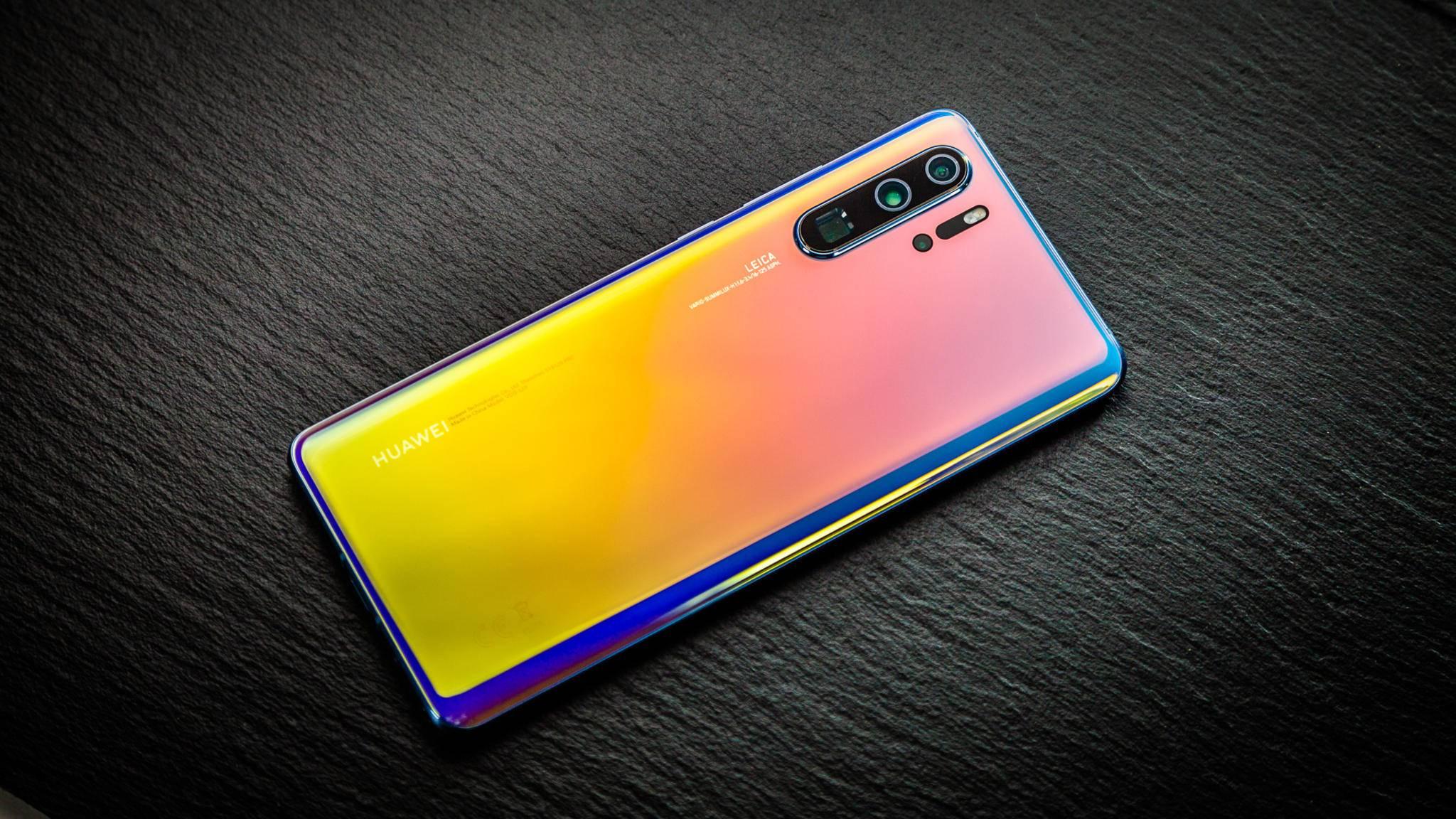 Das Huawei P30 Pro ist vom US-Handelsverbot nicht betroffen.