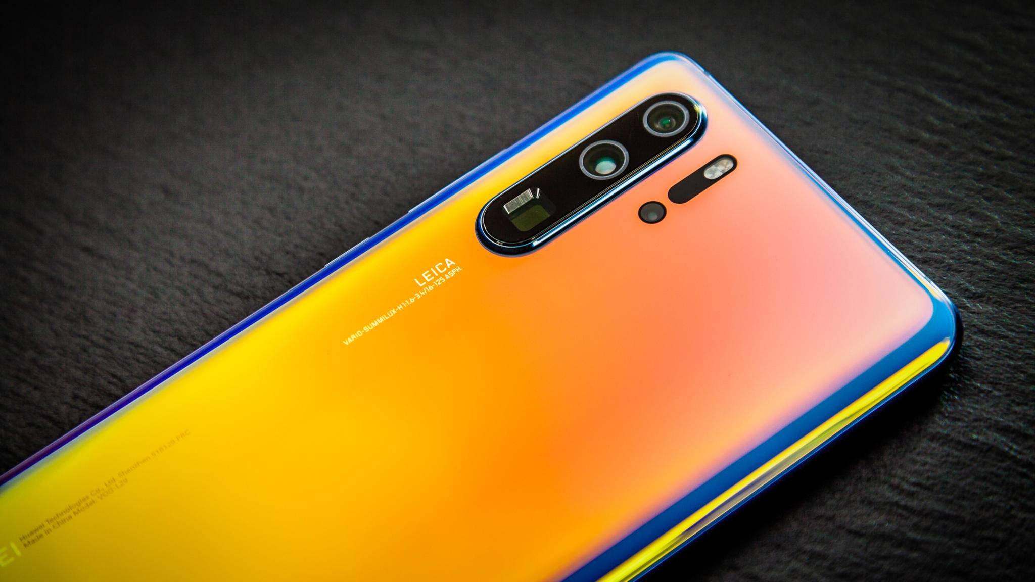 Das Huawei P30 Pro erschien noch vor dem US-Bann.