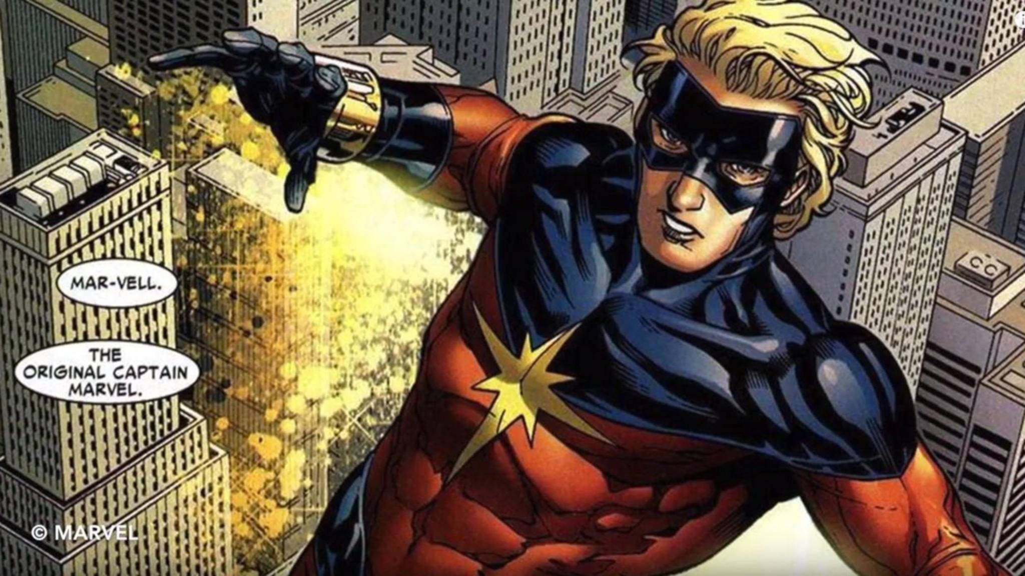 Der Kree Mar-Vell war der erste Captain Marvel in den Marvel-Comics.