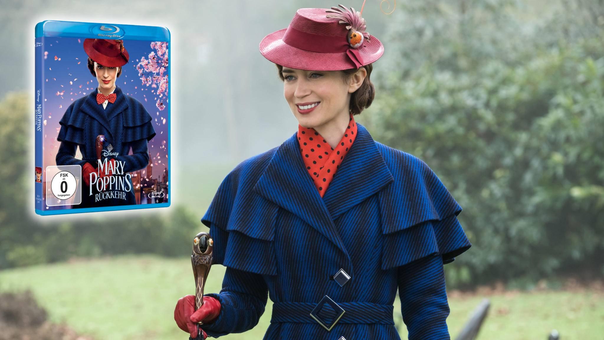 """""""Mary Poppins' Rückkehr"""" verzaubert mit den Extras zum Film fast genauso sehr, wie mit der Handlung an sich."""
