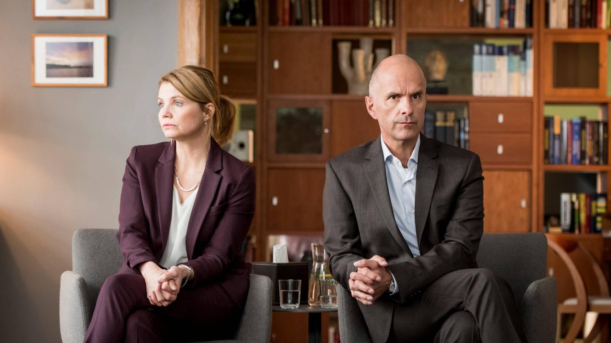 Anne und Erik Merz haben sich nicht mehr viel zu sagen ...