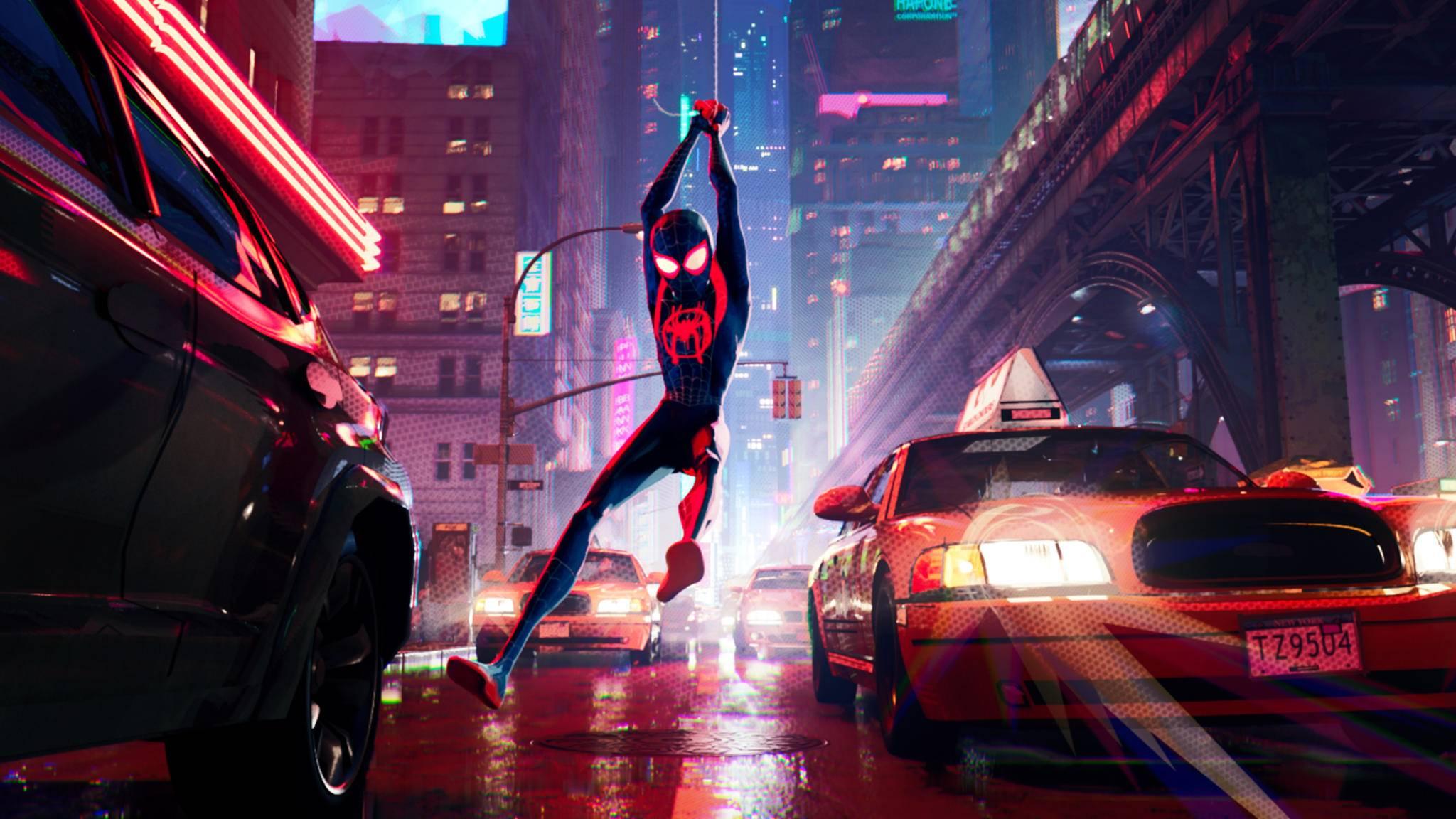 """""""Spider-Man: A New Universe"""" oder: So schön kann Computeranimation sein!"""