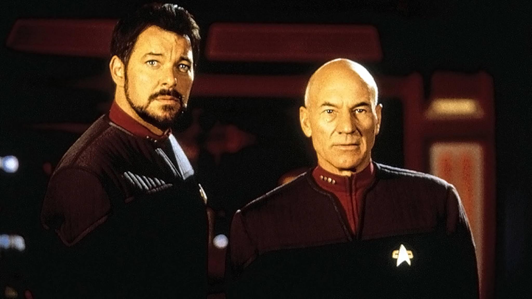 """Wieder vereint: Jonathan Frakes ist bei Patrick Stewarts """"Picard""""-Serie mit an Bord."""