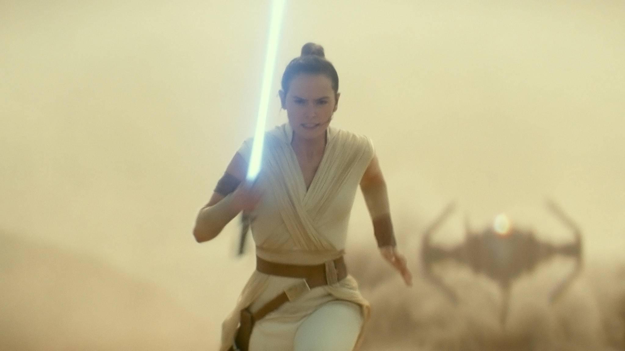 """Unaufhaltsame Rey: """"Der Aufstieg Skywalkers"""" hat bereits über eine Milliarde Dollar eingespielt."""