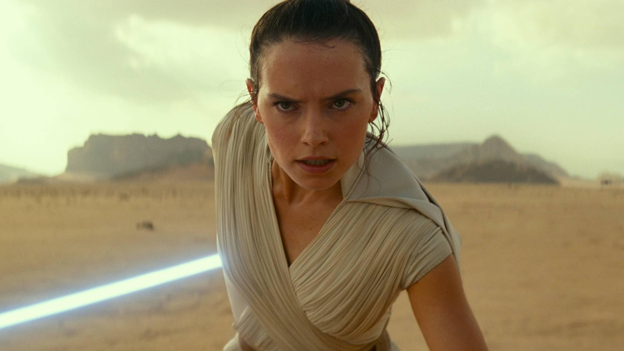 """Rey nimmt in """"Star Wars 9"""" den Kampf wieder auf."""