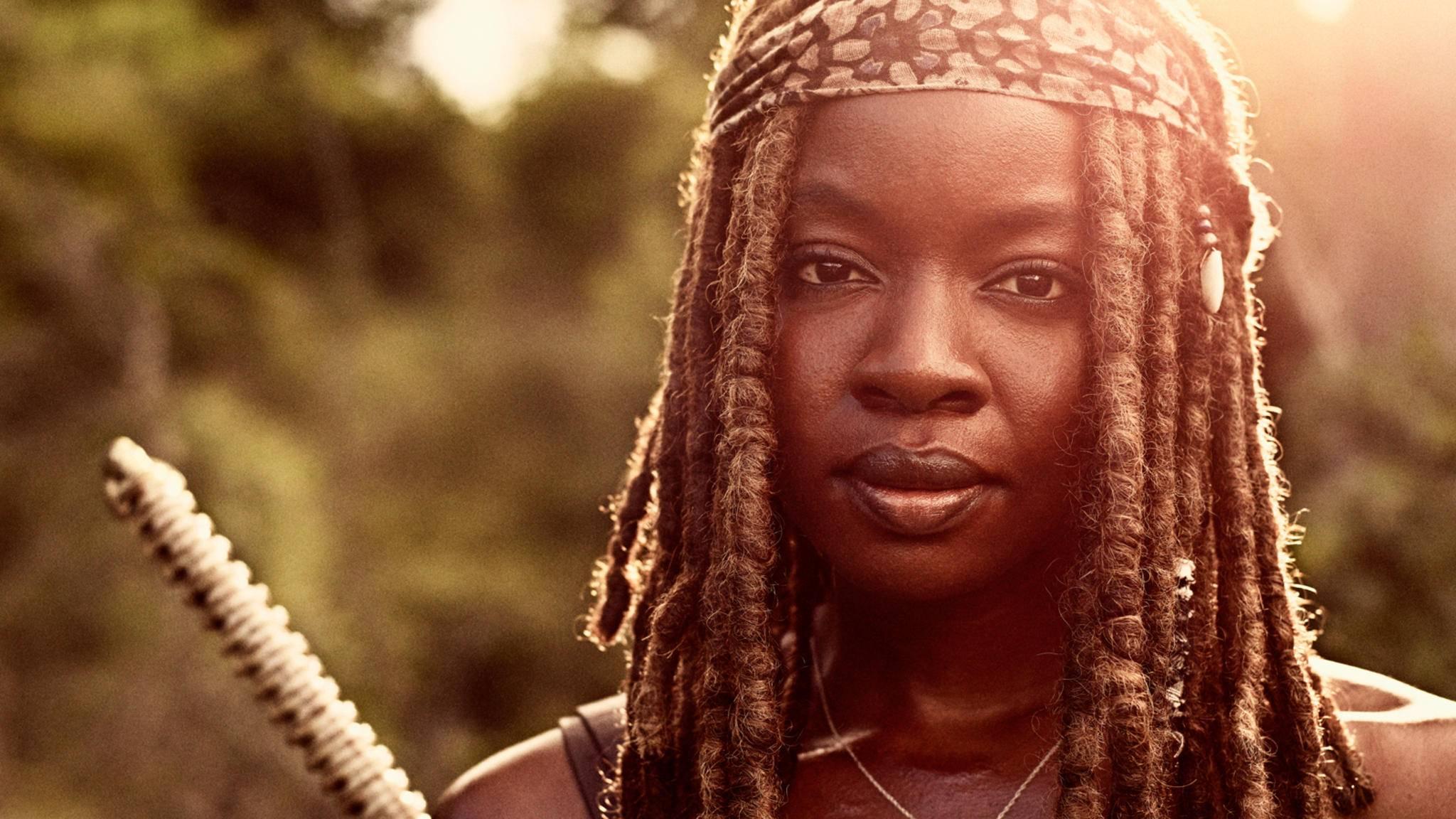 """In Staffel 10 dürfen sich Fans von """"The Walking Dead"""" auf besonders gewichtige Michonne-Action freuen."""