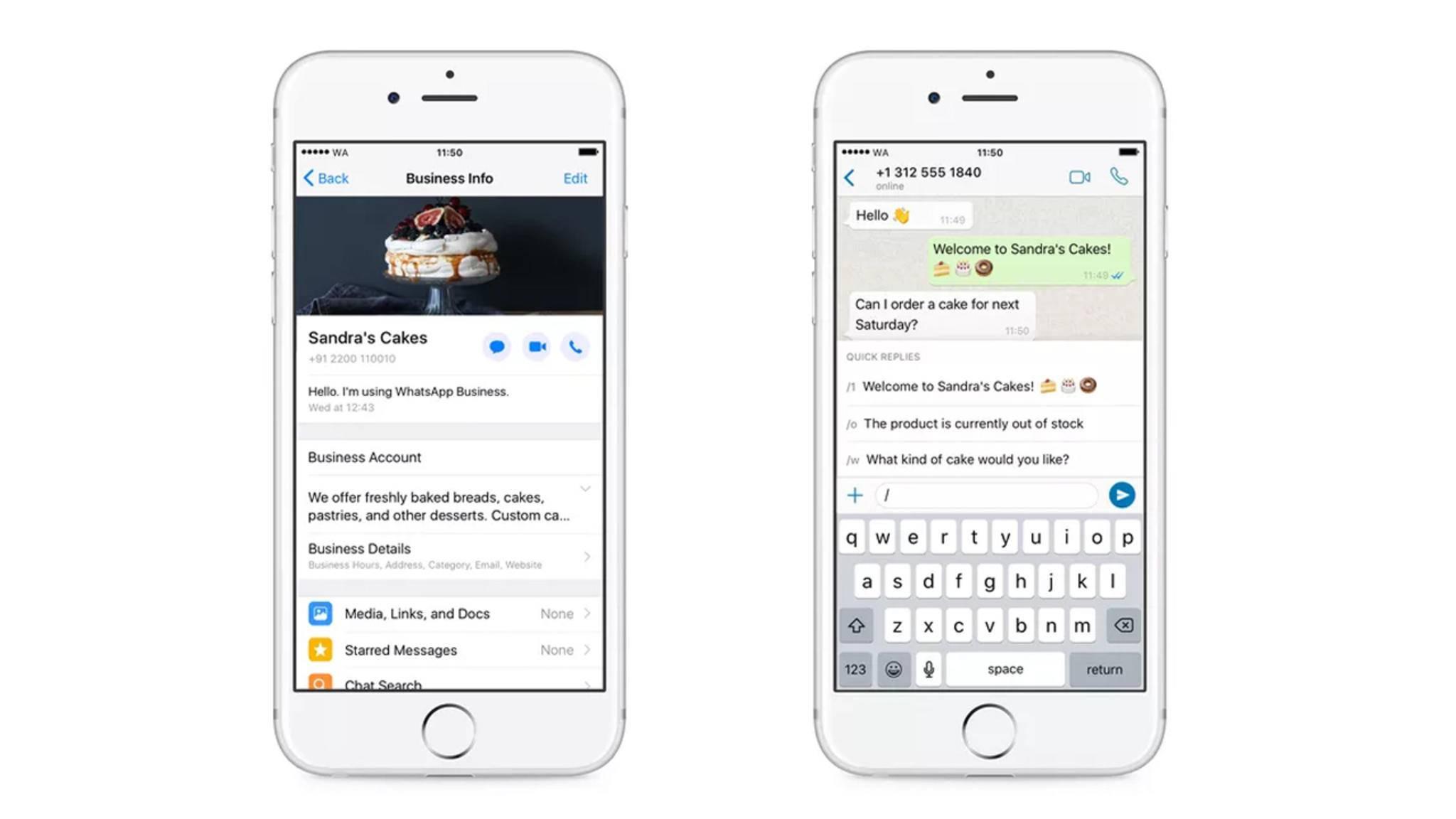 Für iOS-Nutzer steht die WhatsApp-Business-App nun auch zur Verfügung.