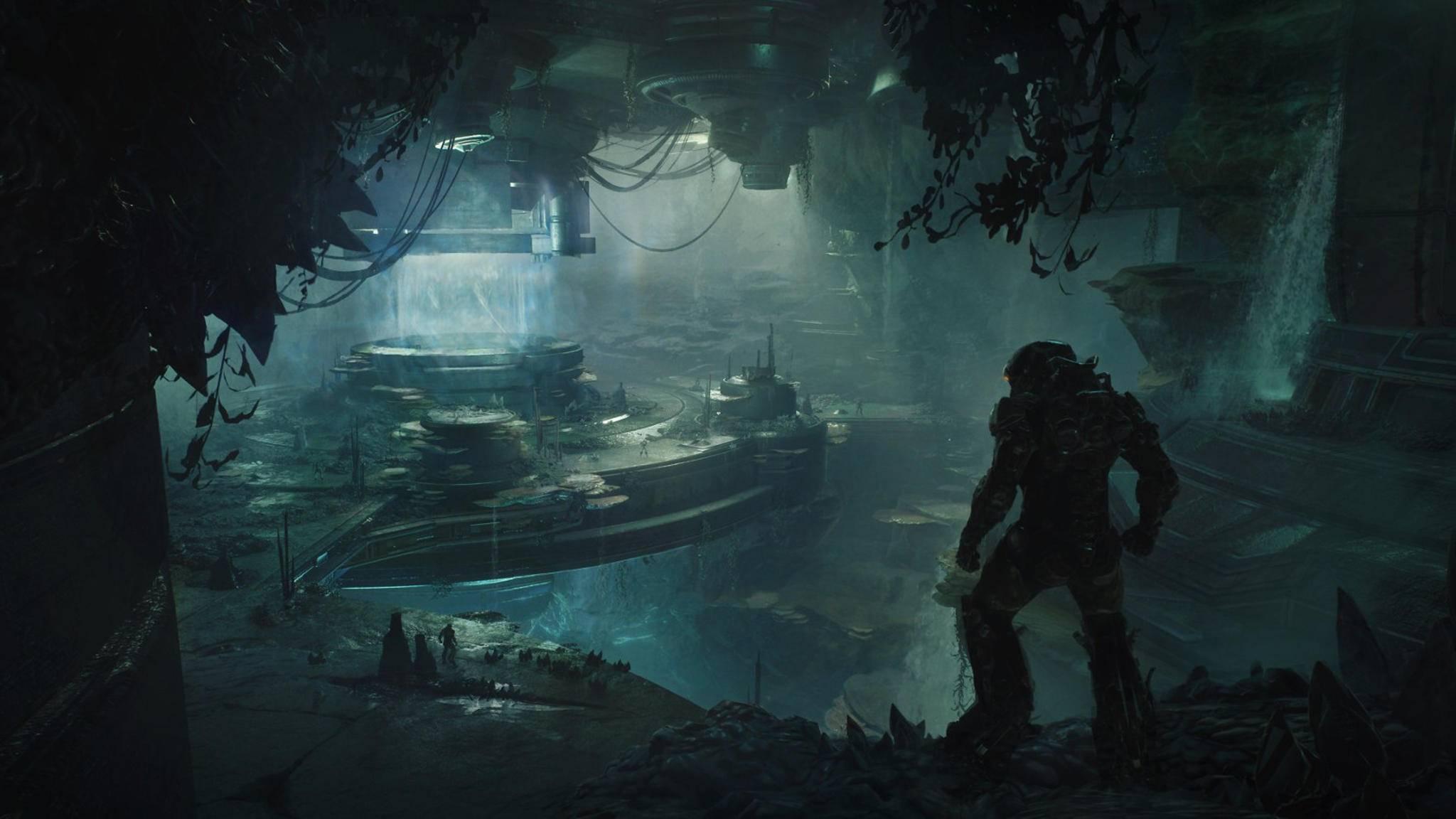 """In der neuen """"Anthem""""-Festung wird Dein Javelin vermutlich ein bisschen nass ..."""