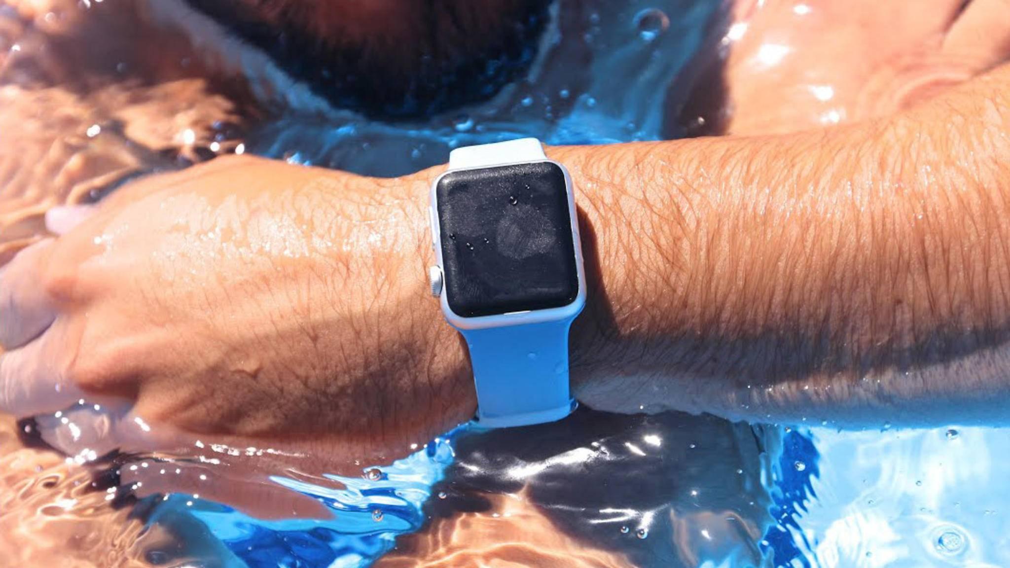 Die Apple Watch ist offiziell gar nicht wasserdicht.
