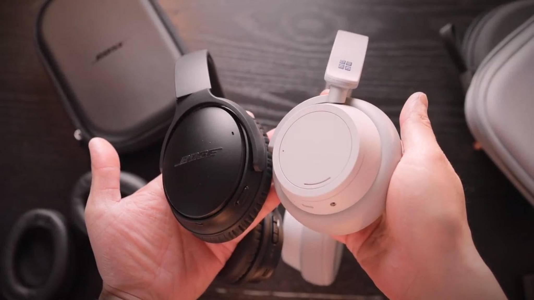 Bose QuietComfort 35 II oder Surface Headphones?